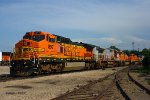Stored BNSF Locomotives